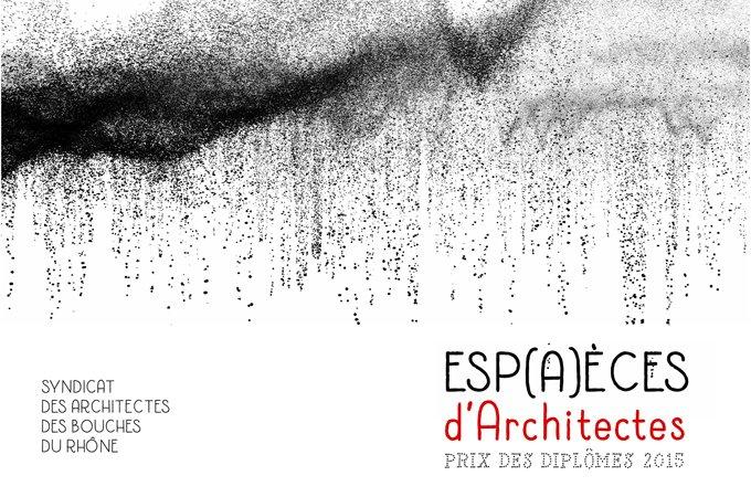 Le prix des dipl mes 2015 syndicat des architectes des for Syndicat des architectes